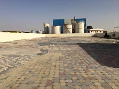 Industrial Land for Rent in Al Saja, Sharjah - 35KW-20. 000SQFTOPENYARD2OFFICESHARJHASAJAINDRESTIALAREA