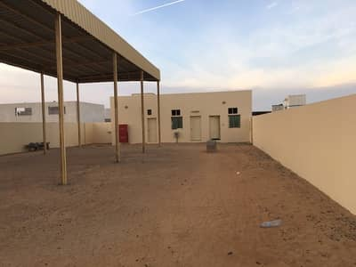 Industrial Land for Rent in Al Saja, Sharjah - 5. 000-10. 000SQFTOPENYARDWITHELECTRICITYSHARJHASAJAINDRESTIALAREA