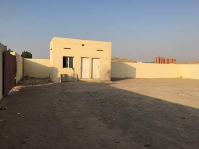 Industrial Land for Rent in Al Saja, Sharjah - 10. 000SQFTOPENYARD20KWELECTRICITYSHARJHASAJAINDRESTIALAREA