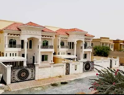 5 Bedroom Villa for Sale in Al Mowaihat, Ajman - Own a villa with the lowest possible bank benefits and the lowest value possible