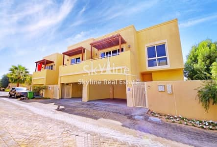4 Bedroom Townhouse for Rent in Al Raha Gardens, Abu Dhabi - Vacant 4BR Townhouse with garden view TYPE S