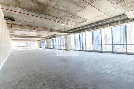 Office for Rent in Downtown Dubai, Dubai - Spacious Shell and Core Office | Mid Floor