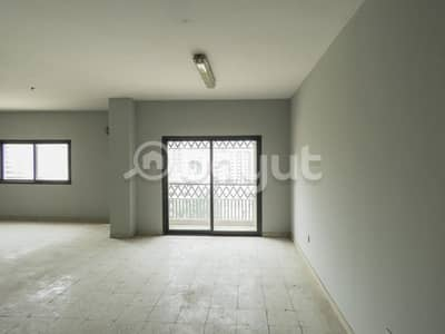 3 Bedroom Apartment for Rent in Abu Shagara, Sharjah - Huge spacious 3BHK with balcony for rent in Abu Shagara