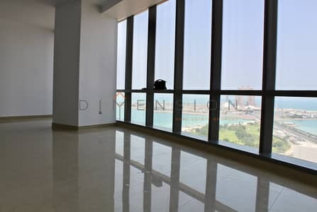 2 Bedroom Flat for Rent in Al Ras Al Akhdar, Abu Dhabi - Sea views and spacious with wide layout!
