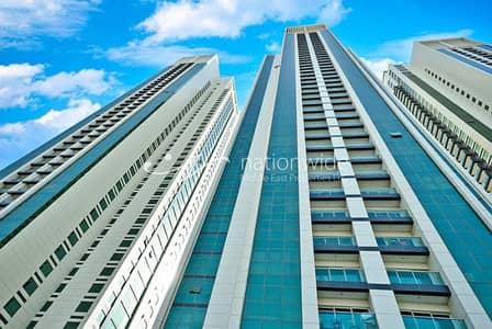 2 Bedroom Flat for Rent in Al Reem Island, Abu Dhabi - Breathtaking 2BR Apt with Elegant finish