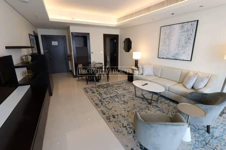 1 Bedroom Flat for Sale in Downtown Dubai, Dubai - Serviced 1 Bedroom   Canal and Oldtown View