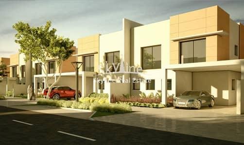 3 Bedroom Villa for Sale in Al Samha, Abu Dhabi - Brand new 3BR Villa with maids and huge garden