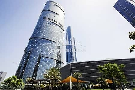 2 Bedroom Flat for Sale in Al Reem Island, Abu Dhabi - Hot deal! Sea view 2 BR Apt with study room