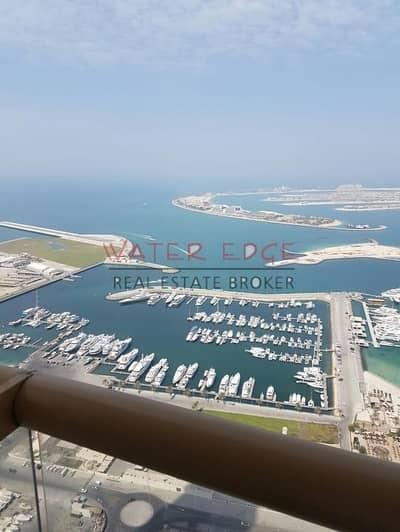 1 Bedroom Flat for Sale in Dubai Marina, Dubai - Full Sea View high Floor I Large 1BR in Elite Residence