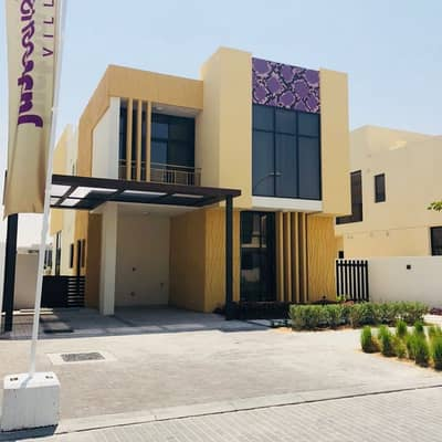 3 Bedroom Villa for Sale in Akoya Oxygen, Dubai - Pay 20K per month and own villa with Cavalli Design