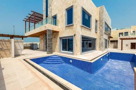 5 Bedroom Villa for Sale in Pearl Jumeirah, Dubai - Prestigious Luxury 5 bed room plus maid villa in Pearl Jumeirah Island