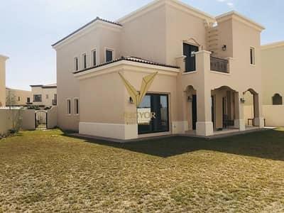 5 Bedroom Villa for Rent in Arabian Ranches 2, Dubai - Huge Corner Plot- 5 Bed Villa Single Row