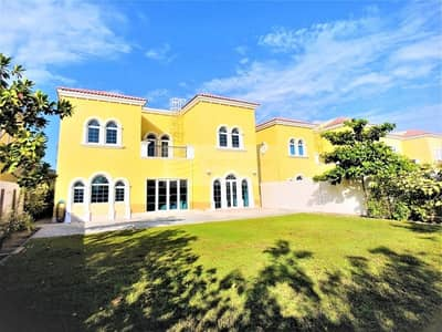 3 Bedroom Villa for Rent in Jumeirah Park, Dubai - Landscaped|Well Kept|Single Row|3 bed+M