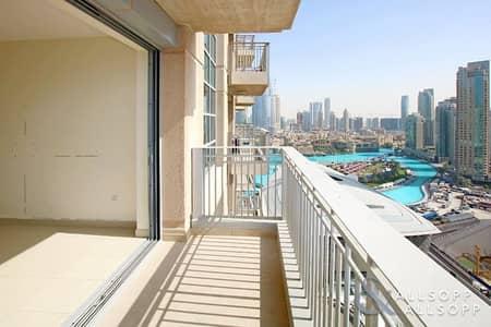 فلیٹ 1 غرفة نوم للبيع في وسط مدينة دبي، دبي - Vacant | Fountain & Opera View | One Bed