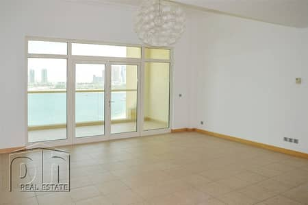1 Bedroom Flat for Rent in Palm Jumeirah, Dubai - High Floor | Sea View | B Type | Balcony