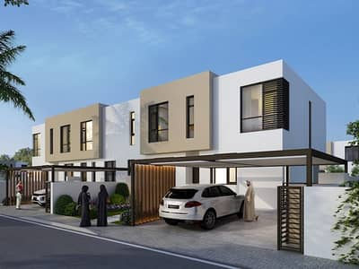 2 Bedroom Townhouse for Sale in Al Tai, Sharjah - Townhouse for Sale in Sharjah| 5Years paymenplan| Zero service charges  for Life!