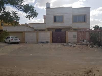 7 Bedroom Villa for Rent in Al Mowaihat, Ajman - HUGE BRAND NEW VILLA 7 BEDROOMS BIG HALL BIG TERRACE MAID ROOM CLOSED TO THE ROAD