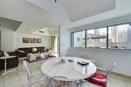 3 Bedroom Villa for Sale in Dubai Marina, Dubai - Full Marina View I Furnished Villa I Vacant