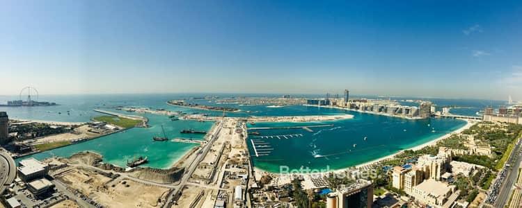 1 Bedroom Flat for Sale in Dubai Marina, Dubai - Deluxe sea view |Vacant |Elite Residence