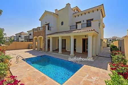 5 Bedroom Villa for Sale in Jumeirah Golf Estate, Dubai - Unique | Girona Type | Golf Course View | Vacant