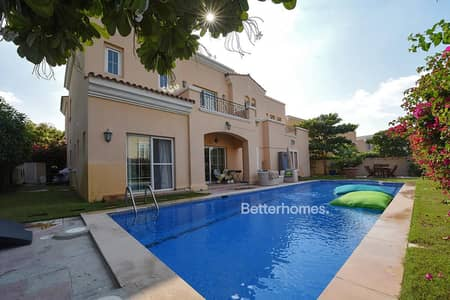 6 Bedroom Villa for Sale in Arabian Ranches, Dubai - Maid's | Type 18 | Swimming Pool