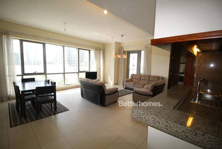 2 Bedroom Apartment for Rent in Downtown Dubai, Dubai - Furnished or Unfurnished | Large Balcony