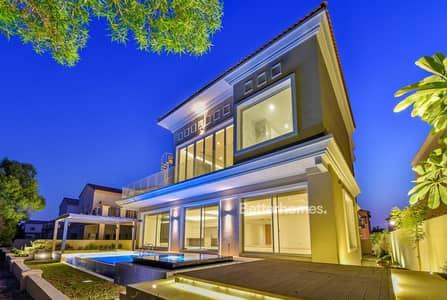 5 Bedroom Villa for Rent in Jumeirah Golf Estate, Dubai - Custom Built   Large Basement   Swimming Pool