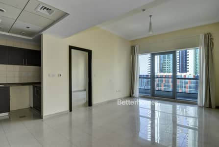 1 Bedroom Flat for Rent in Dubai Marina, Dubai - Spacious | Unfurnished | Partial Sea View