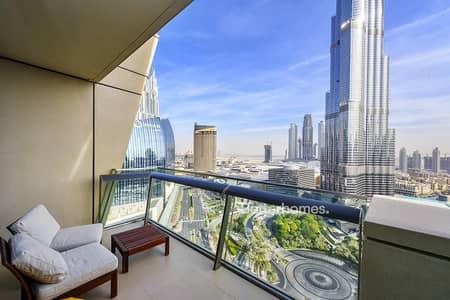 2 Bedroom Flat for Sale in Downtown Dubai, Dubai - 06 Unit   Largest 2 Bed Layout   Burj View