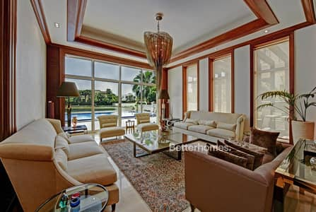 6 Bedroom Villa for Sale in Emirates Hills, Dubai - Lake View | Vacant on Transfer | Furnished