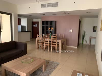 1 Bedroom Flat for Rent in Jumeirah Beach Residence (JBR), Dubai - Furnished | Spacious | Vacant now