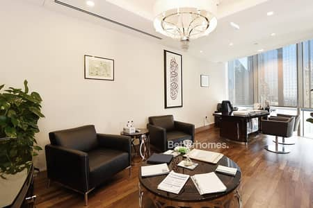 Office for Rent in DIFC, Dubai - High End Fitted Furnished | Partitioned