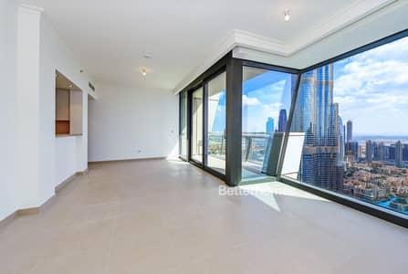 3 Bedroom Apartment for Rent in Downtown Dubai, Dubai - High Floor | Burj Khalifa View | Vacant