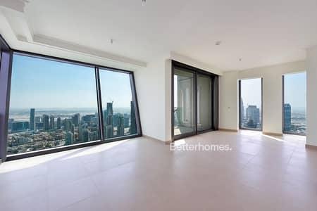 3 Bedroom Apartment for Rent in Downtown Dubai, Dubai - Mid Floor | Burj Khalifa View | Vacant