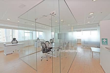 Office for Rent in Jumeirah Lake Towers (JLT), Dubai - Partitioned | Furnished | Parquet Floor