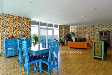 3 Bedroom Flat for Rent in Al Raha Beach, Abu Dhabi - Three BR Apt w/ balcony facing full sea view