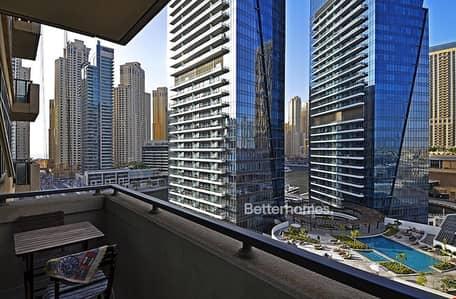1 Bedroom Flat for Sale in Dubai Marina, Dubai - Vacant | Furnished | Partial Marina