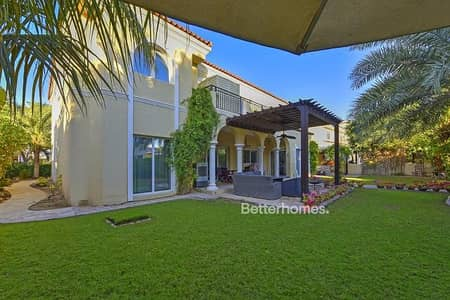 5 Bedroom Villa for Sale in Green Community, Dubai - Vacant   Maid Room    Vacant on Transfer