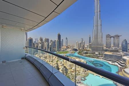 2 Bedroom Flat for Sale in Downtown Dubai, Dubai - Vacant Full BK & Fountain view High Floor