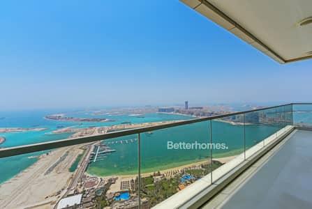 1 Bedroom Apartment for Sale in Dubai Marina, Dubai - High Floor | Full Sea View | Balcony | Vacant