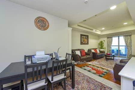 1 Bedroom Apartment for Sale in Dubai Marina, Dubai - 1 bedroom - High Floor - Partial Sea View