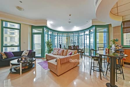 2 Bedroom Flat for Sale in Dubai Marina, Dubai - Vacant |Large 2 Bed w/Maid's and balcony