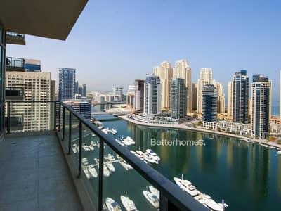 2 Bedroom Flat for Sale in Dubai Marina, Dubai - Full Marina View | Mid Floor | Al Majara 2