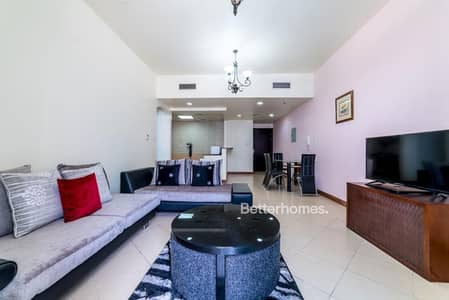1 Bedroom Flat for Rent in Dubai Marina, Dubai - Fully Furnished   High Floor   12 Cheques