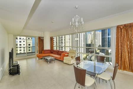 2 Bedroom Apartment for Rent in Dubai Marina, Dubai - Marina and Sea view| 2 Bed | Al Sahab 2