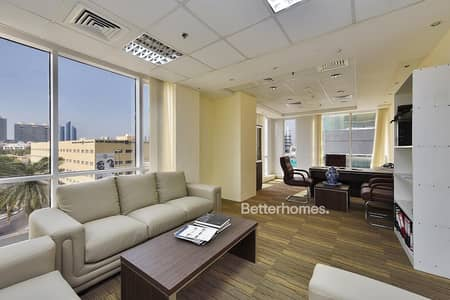 Office for Rent in Al Karama, Dubai - Fitted | Partitioned | Chiller Free | Karama