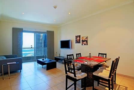 2 Bedroom Flat for Sale in Dubai Marina, Dubai - Sea View 2 Bed in Marina Heights with Balcony