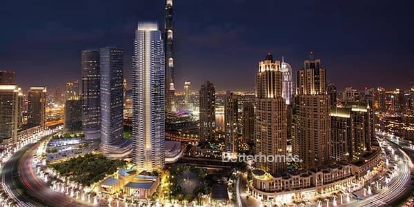 3 Bedroom Apartment for Sale in Downtown Dubai, Dubai - Full Burj And Fountain View I High floor