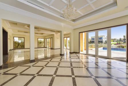 6 Bedroom Villa for Rent in Emirates Hills, Dubai - Emirates Hills | Lake view | 8745 sq. ft