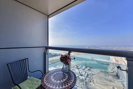 3 Bedroom Apartment for Sale in Dubai Marina, Dubai - FULL SEA VIEW - VACANT - HIGH FLOOR